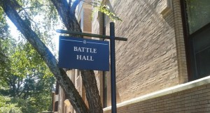 Battle Hall has become a symbolic location for UNC's African, African American, and Diaspora Studies department.