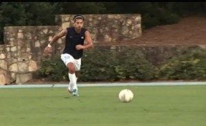 Sophomore midfielder Raby George came to UNC from Sweden to play soccer.