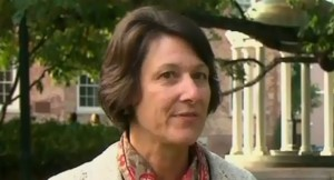 UNC Academic Advisor Mary Willingham says she's been harassed and threatened since she went public with her concerns about the academic performance of college athletes. (Photo from CNN Newsource)