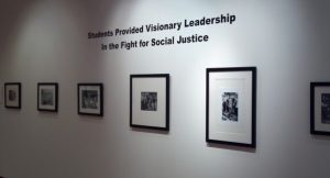 The Stone Center exhibit honors students and other lesser-known civil rights activists.