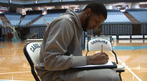 Leslie McDonald has spent years perfecting his basketball skills. But his talents also extend into the world of art.