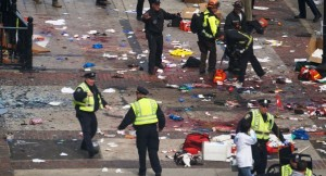 On April 15, 2013, two pressure cooker bombs exploded during the Boston Marathon last year, killing 3 people and injuring an estimated 264 others. (Photo courtesy of Wikimedia)