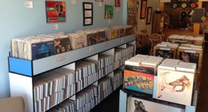At Vinyl Perk in Carrboro, people will gather to celebrate vinyl's impact on the music industry.(Photo by Andrew Stern)