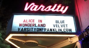 A Kickstarter campaign has raised enough money to keep the Varsity Theater in business. (Photo by Caroline Culler via Wikimedia Commons)