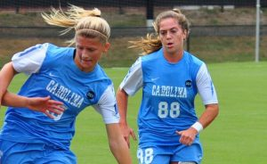 UNC senior Alexa Newfield (88) has been drafted by Kansas City in the women's profession soccer league. (Photo by RonJonMan/Wikipedia Commons)